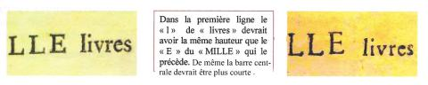 "Extrait de ""Les bilets de France"" de Kolsky, Laurent et Dailly"