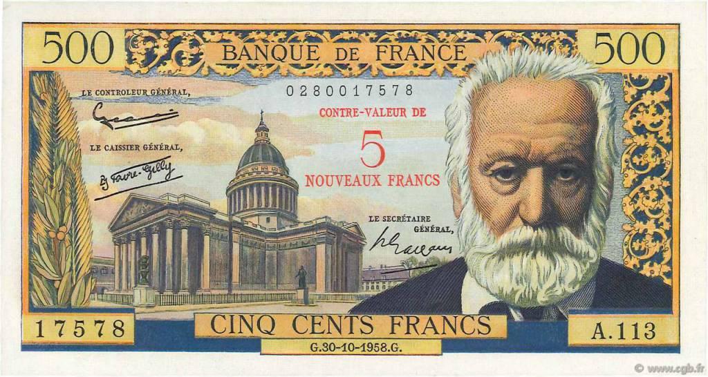 billet de banque algerie francaise